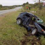 В Орловском районе погиб водитель «Тойоты»: мужчина не справился с управлением и врезался в столб