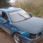 В Кирово-Чепецком районе водитель ВАЗа вылетел в кювет и перевернулся: мужчина госпитализирован