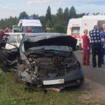 Два человека погибли при столкновении автомобилей «ВАЗ» и «Ниссан» в Кирово-Чепецком районе: еще два человека травмированы