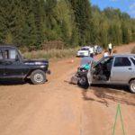 В Куменском районе столкнулись УАЗ и «десятка»: один человек госпитализирован