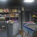 В Омутнинске обгорел магазин, который только на днях отремонтировали после пожара