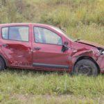 На трассе в Орловском районе столкнулись Renault и ВАЗ: один человек госпитализирован