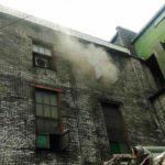 В Кирове произошел пожар на шинном заводе: на место выезжало 14 пожарных расчетов