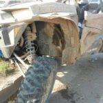 В Кирове столкнулись два легковых автомобиля и вездеход: два человека получили травмы
