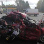 В страшной аварии в Юрьянском районе погибли две женщины 29 и 57 лет