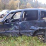 В Кирово-Чепецке столкнулись «Шевроле Нива» и автобус с пассажирами: два человека госпитализированы
