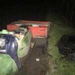 В Котельничском районе бесправник на «Муравье» улетел в кювет: мужчина госпитализирован