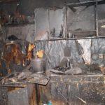 В Оричевском районе молодой человек избил тещу и поджег ее дом
