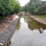 В Кирово-Чепецком районе начали расчищать русло реки Большая Просница