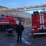 В Кирове горели склады: пожар тушили 8 пожарных расчётов