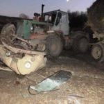 В Сунском районе столкнулись «УАЗ» и трактор: погибли два человека, еще один госпитализирован