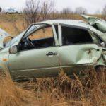 В Яранском районе перевернулась «Лада Гранта»: женщина-водитель госпитализирована