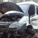 В Кирово-Чепецком районе «Газель» столкнулась с фурой: один человек госпитализирован