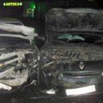 В Кирове столкнулись Renault и Chevrolet: пострадали три человека