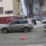 В Кирове водитель сбил женщину на пешеходном переходе