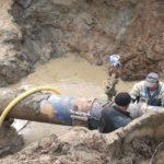 В Кирове произошла крупная авария на водопроводе: отключено водоснабжение 25 жилых домов и детского сада