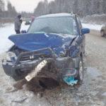 На трассе Киров – Малмыж автомобиль «Датсун» столкнулся с «Хондой»: пострадали четыре человека