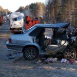 На трассе «Вятка» столкнулись Nissan и ВАЗ: госпитализированы четыре человека, в том числе годовалый ребенок