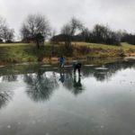 «Килька дороже, чем жизнь»: В Верхошижемье рыбаки вышли на только что сформировавшийся лед