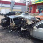 Кировские полицейские установили личность женщины, совершившей поджог автомобиля