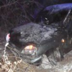 В Кирово-Чепецком районе «Шевроле Нива» опрокинулась в кювет: пострадали четыре человека
