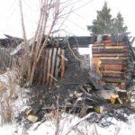 В Вятскополянском районе на пожаре погиб мужчина