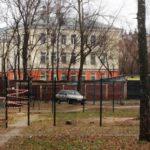 В Кирове установили спортплощадку «вверх ногами»: объект был официально принят в эксплуатацию