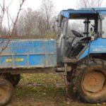 В Подосиновском районе мужчина угнал трактор, чтобы поехать в деревню к друзьям