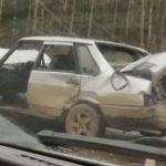 В Кирове на Советском тракте водитель «ВАЗа» столкнулся с двумя фурами
