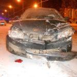 В Кирове на Победиловском тракте столкнулись три машины