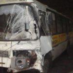 В Кирово-Чепецке столкнулись автобус и «Мерседес»: пять человек получили травмы