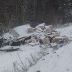 В Белохолуницком районе погиб водитель фуры: грузовик съехал в кювет и перевернулся