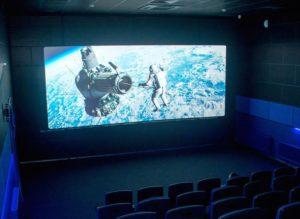 В Кирсе открыли новый кинозал