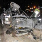 В Юрьянском районе в столкновении «Гранты» и фуры погиб водитель легкового автомобиля
