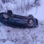 В Кирове водитель ВАЗ-2115 перевернулся в кювет