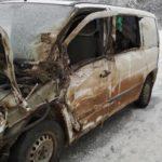В Юрьянском районе столкнулись «Мерседес» и грузовик: госпитализирован 14-летний подросток