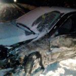 В Котельничском районе «Лада Гранта» зацепила «Камаз»