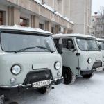Шесть автомобилей УАЗ получили лесничества Кировской области