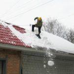 Кировэнерго напоминает о необходимости очистки крыш от снега