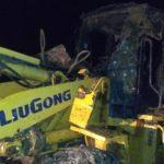 В Юрьянском районе погрузчик съехал в кювет и перевернулся: водитель погиб