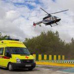 В 2018 году в Кировской области вертолетами санитарной авиации выполнено 415 вылетов