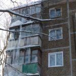 """В Кирове пытаются ликвидировать четырехэтажную """"сосульку"""""""