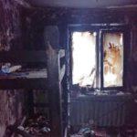 В Сунском районе пожарные спасли из огня 4 детей