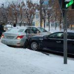 В Кирове произошло тройное ДТП