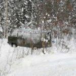 В Шабалинском районе УАЗ перевернулся в кювет: пострадали четверо детей и женщина