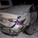 В Орловском районе на трассе «Вятка» произошло массовое ДТП с двумя фурами