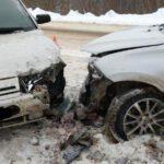 В Сунском районе столкнулись два отечественных автомобиля: один человек госпитализирован