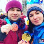 На этапе Кубке мира по ледолазанию в Италии кировчане завоевали 5 медалей
