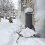 В Кирово-Чепецке произошло возгорание в подвале многоквартирного дома