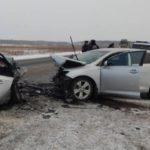 В Белохолуницком районе столкнулись две «Тойоты»: травмированы три человека
